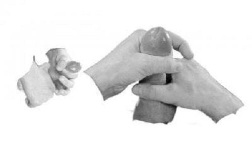 Bài tập tăng kích thước dương vật Thumb Stretcher
